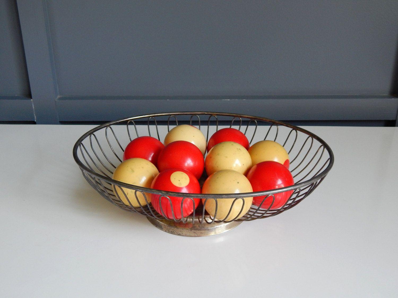 FOR SALE 34.99 Vintage Bumper Pool Table Ball Set