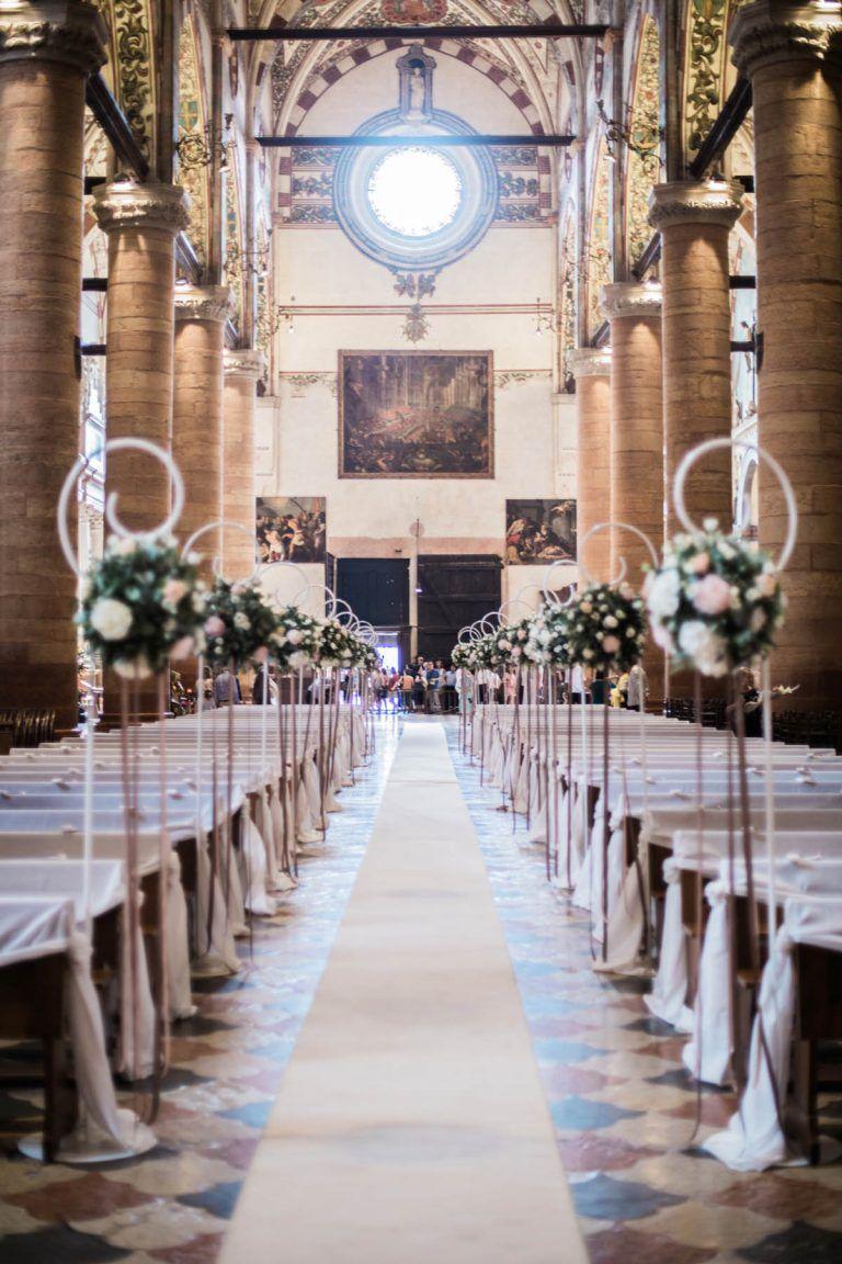 Allestimento Chiesa Rosa Cipria E Tortora Matrimonio Nozze Giorno Delle Nozze