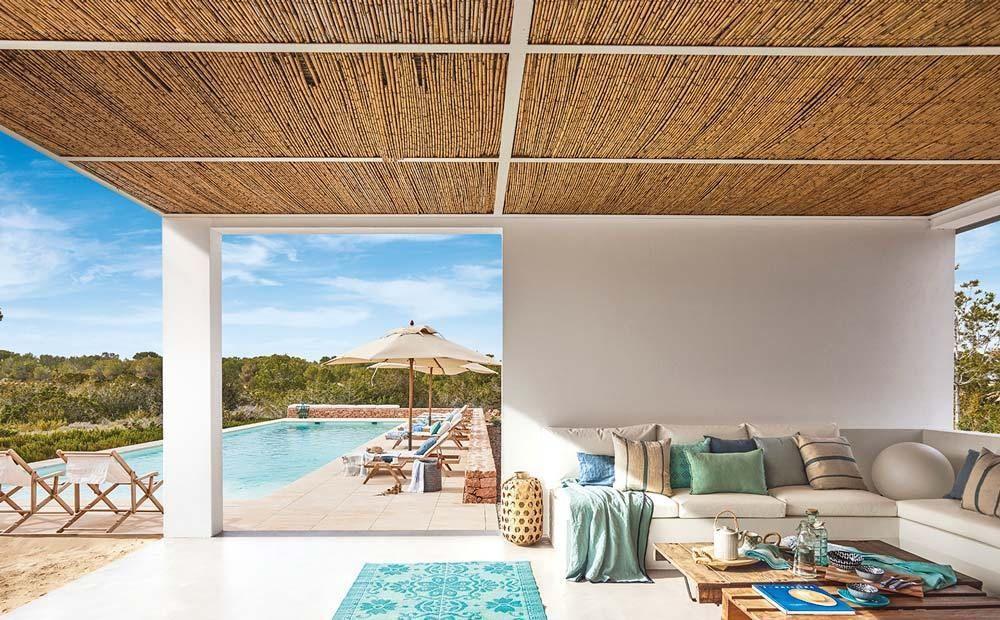 Casa vacanze in stile mediterraneo a Formentera Esterni