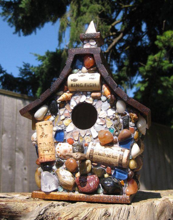 Winestone Birdhouse