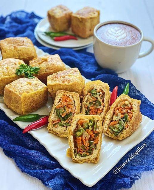 Resep Tahu Isi Enak Gurih Dan Anti Gagal Resep Tahu Resep Masakan Vegetarian