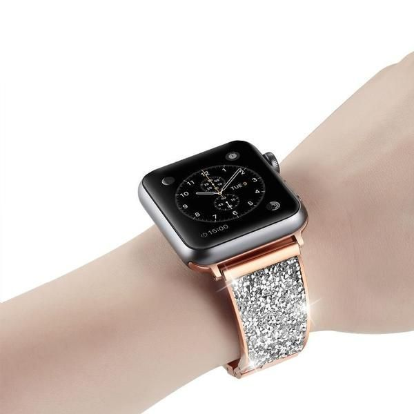 Apple Watch Bands Rose Gold Apple Watch Bands 38mm 40mm 42mm 44 Mm Series 3 Apple Watch Bands Women Apple Watch Bands Fashion Apple Watch Bands Rose Gold