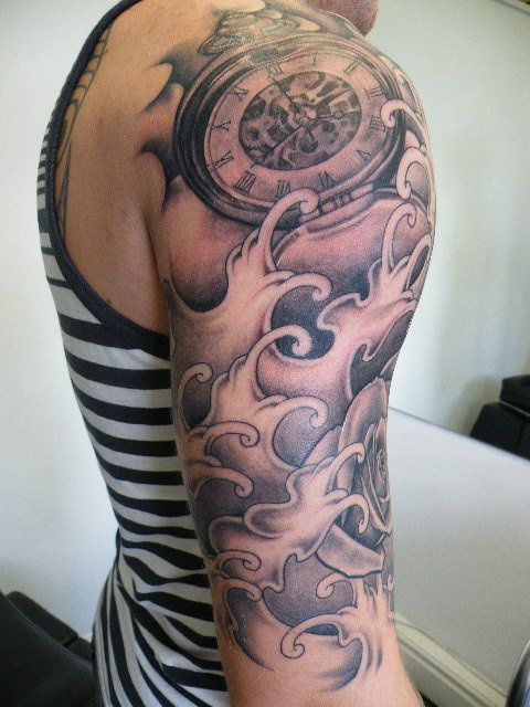 amazing tattoo quarter sleeves google search tattoos pinterest amazing tattoos tattoo. Black Bedroom Furniture Sets. Home Design Ideas