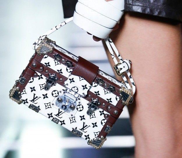 Petite Malle Louis Vuitton logata