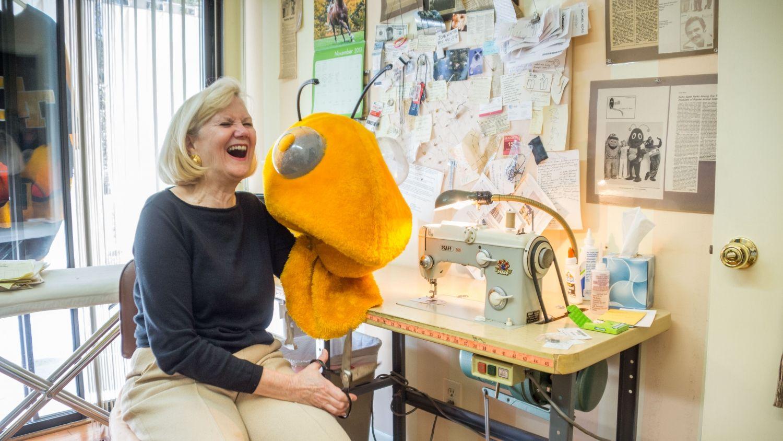 Meet Kathy Spetz, the woman behind Tech's mascot