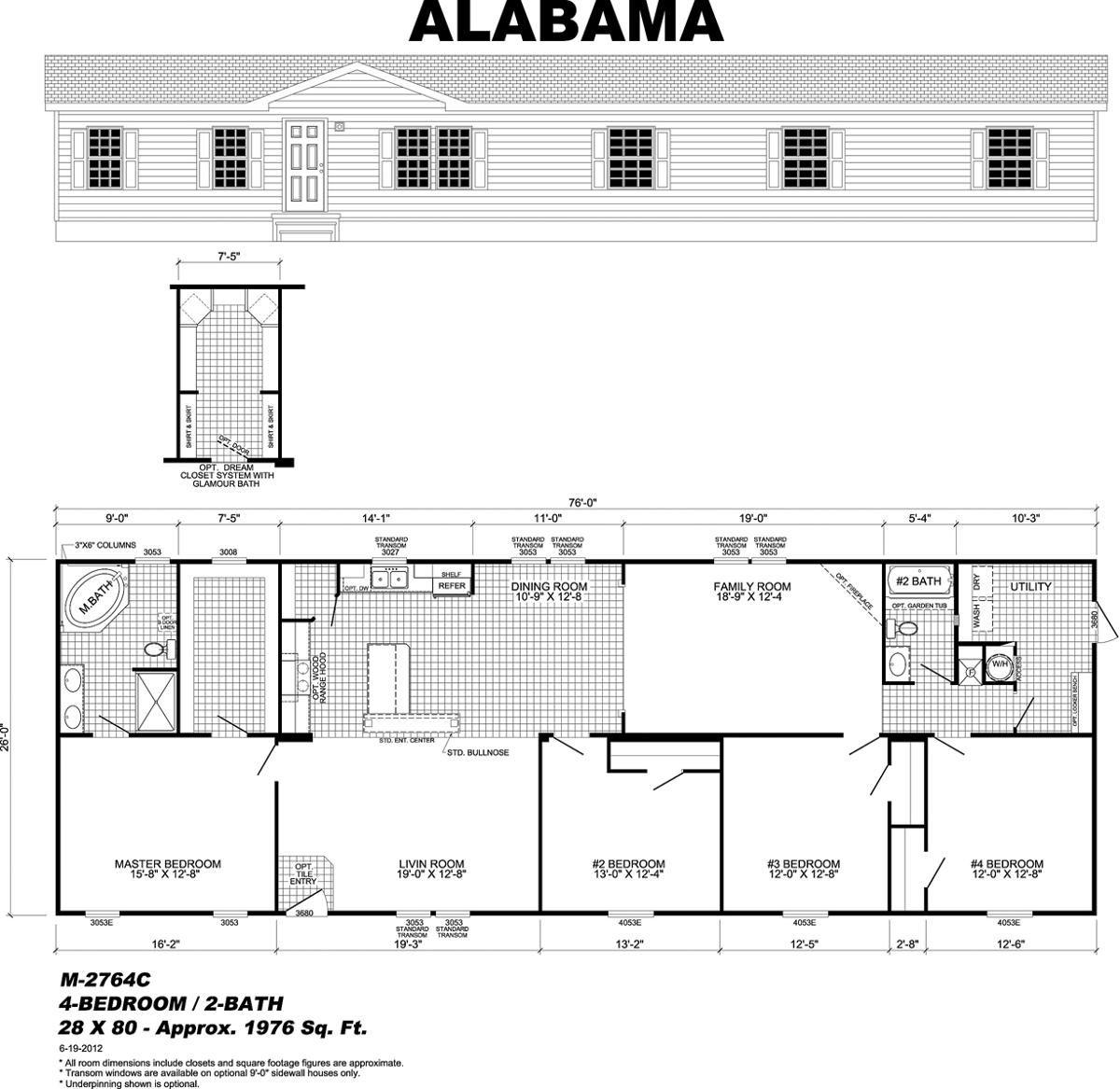 Mossy Oak Rainbow Homes Augusta, GA Mobile home