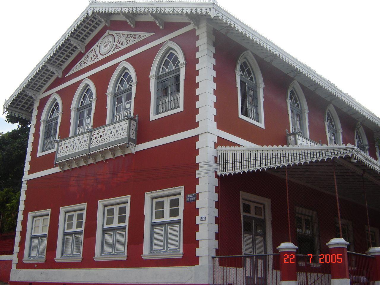 Olinda, Pernambuco - Brasil - Casa do conde Maurício de Nassau