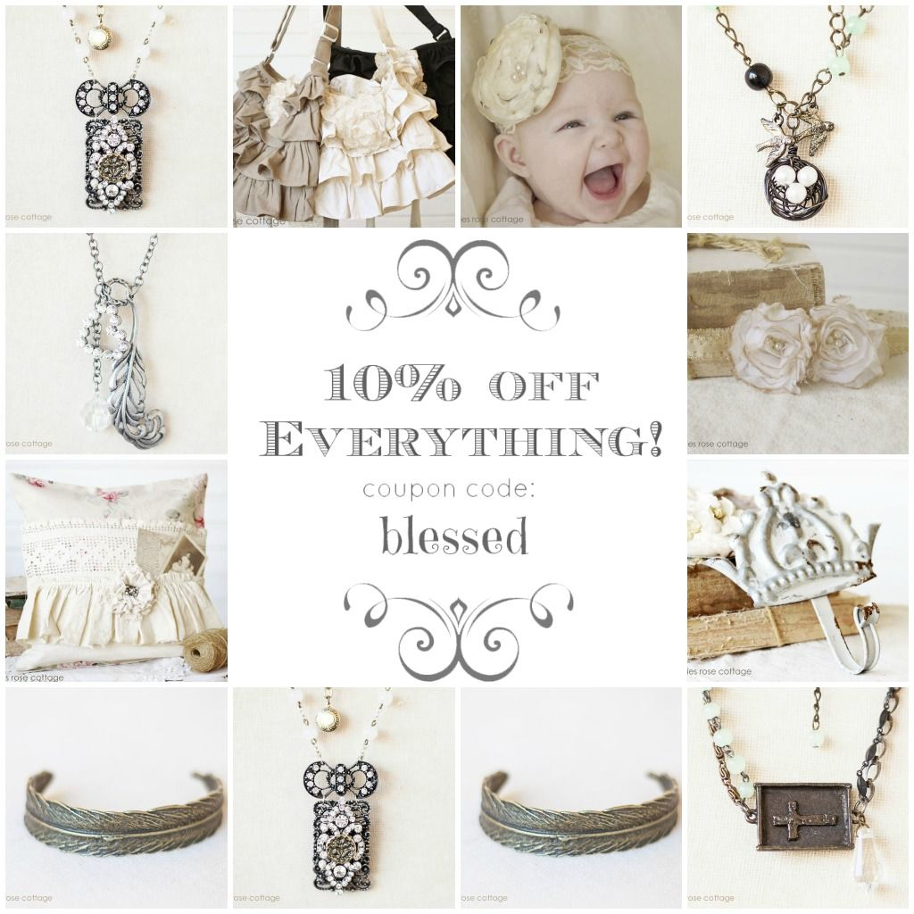 ❥ French Farmhouse and Cottage Chic Home Decorations and Accessories