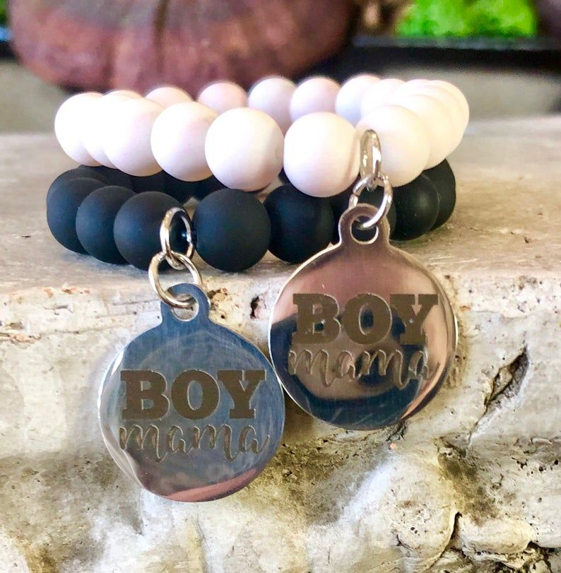 Gifts for new mom gift for boy mom boy mom bracelets boy