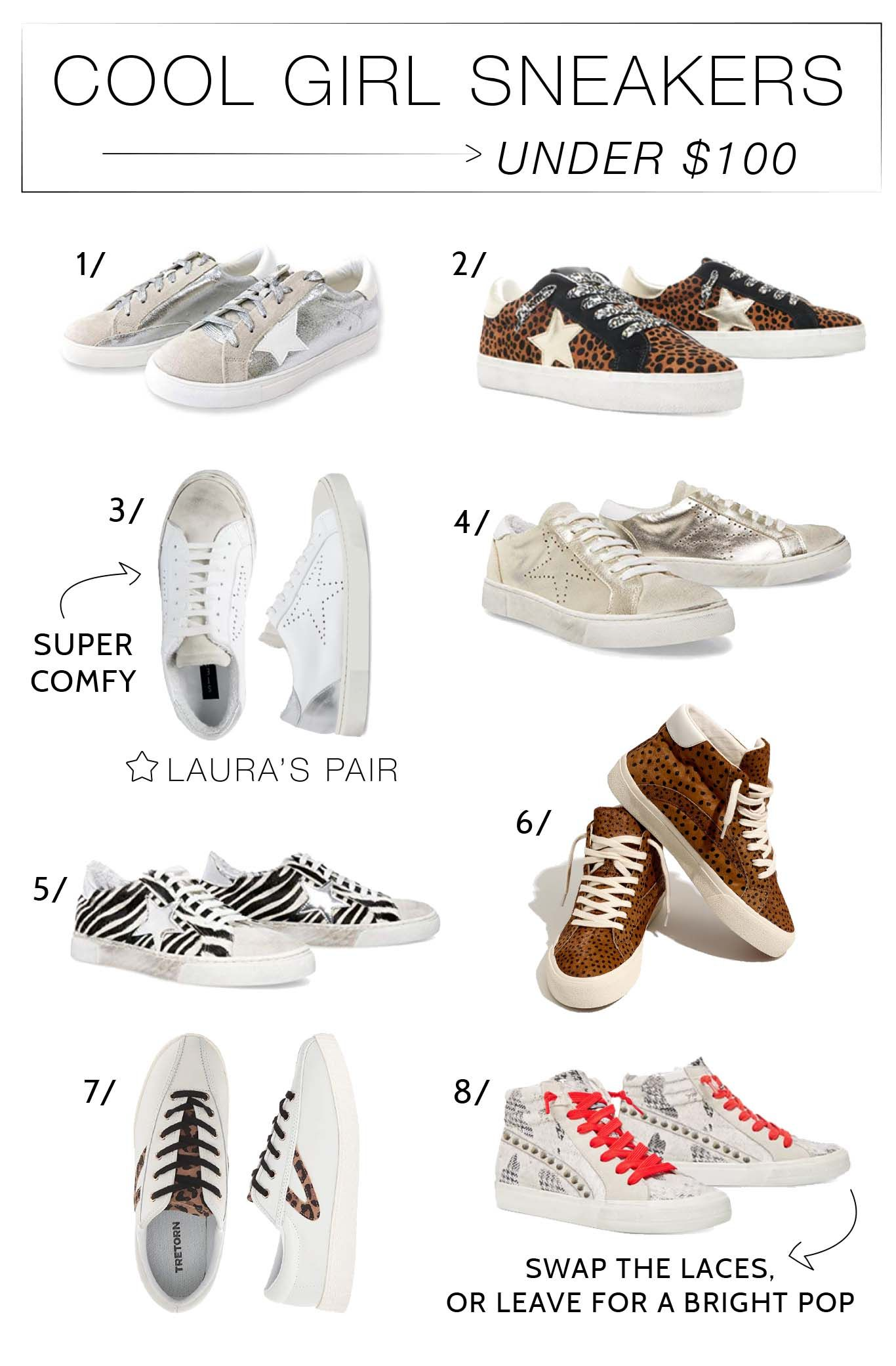 8 Casual-Chic Sneakers We Love (Under