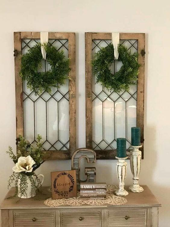 Resultado de imagen para old window frames estilo frances rustico
