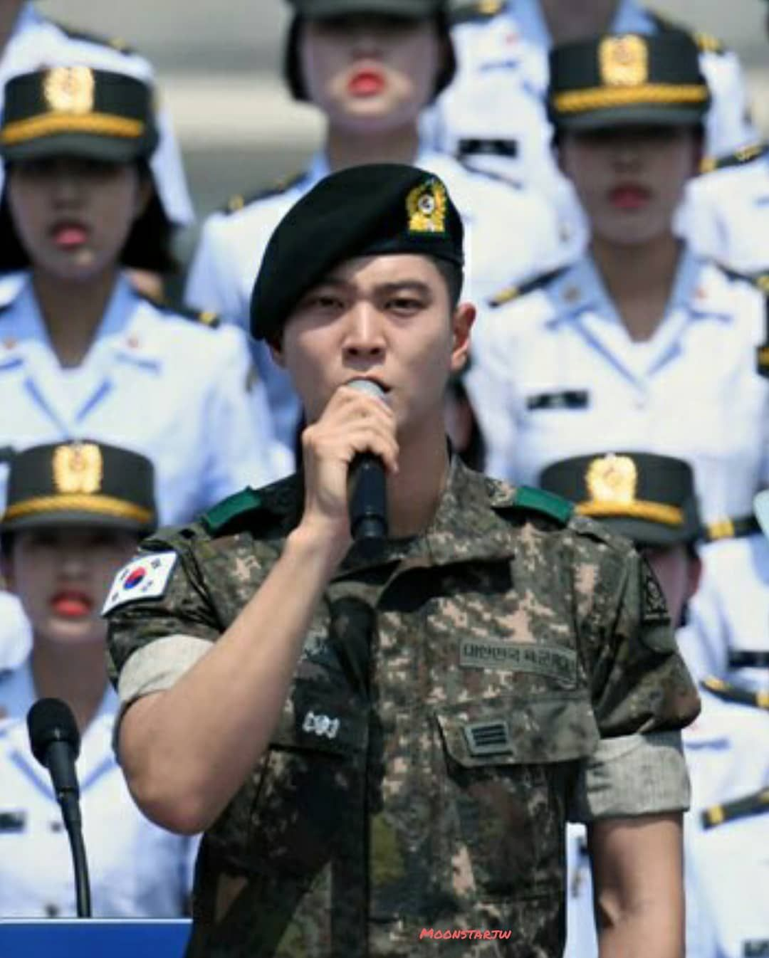 46d30576d63 Corporal Moon Jun Won ( Joo Won ) Ξ . . We are always proud of you ...