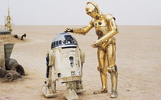 R2d2 And C3po In Movie C-3PO | R2 d2 and Star