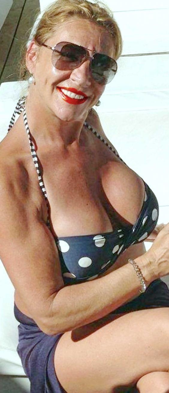 Big tit mature british lezbians