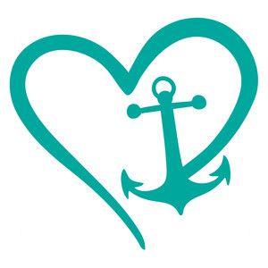 Download Nautical love   Silhouette design, Cricut vinyl ...