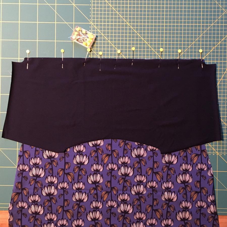 Einfaches Jerseykleid aus Kimono Tee Schnittmuster   Nähtalente #sommerkleidselbernähen