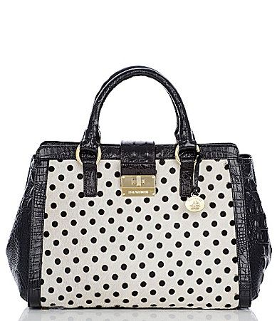 Brahmin Luna Collection Annabelle Satchel #Dillards