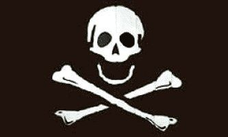 Pirate - Poison - Flag 3ft x 5ft Printed Polyester by US Flag Store. $0.89. Finished with 2 Brass Grommets. 3ft x 5ft Flag. Printed Polyester. May be Made Outside of the US. Low Cost Shipping Available!. Not an authentic flag, but ghastly all the same. Look out!!! They're following you.. Save 94%!
