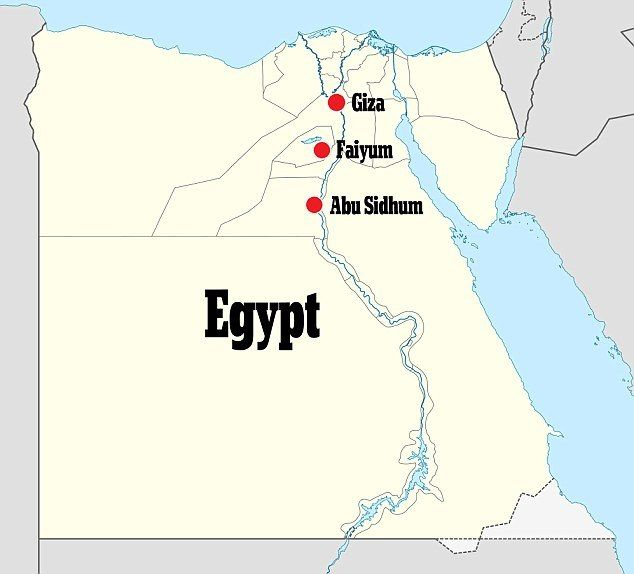 New Discovery Almost All The 138 Known Pyramids Are Located Around Giza In The Outskirts Of Cairo Ms Micol Finds Are Far Further Sou Egypt Egypt Map Thebes