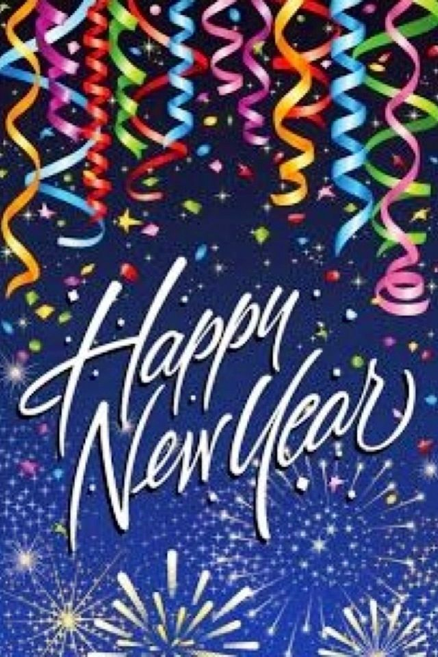 New Years iPhone Wallpaper tjn New year greetings, Happy