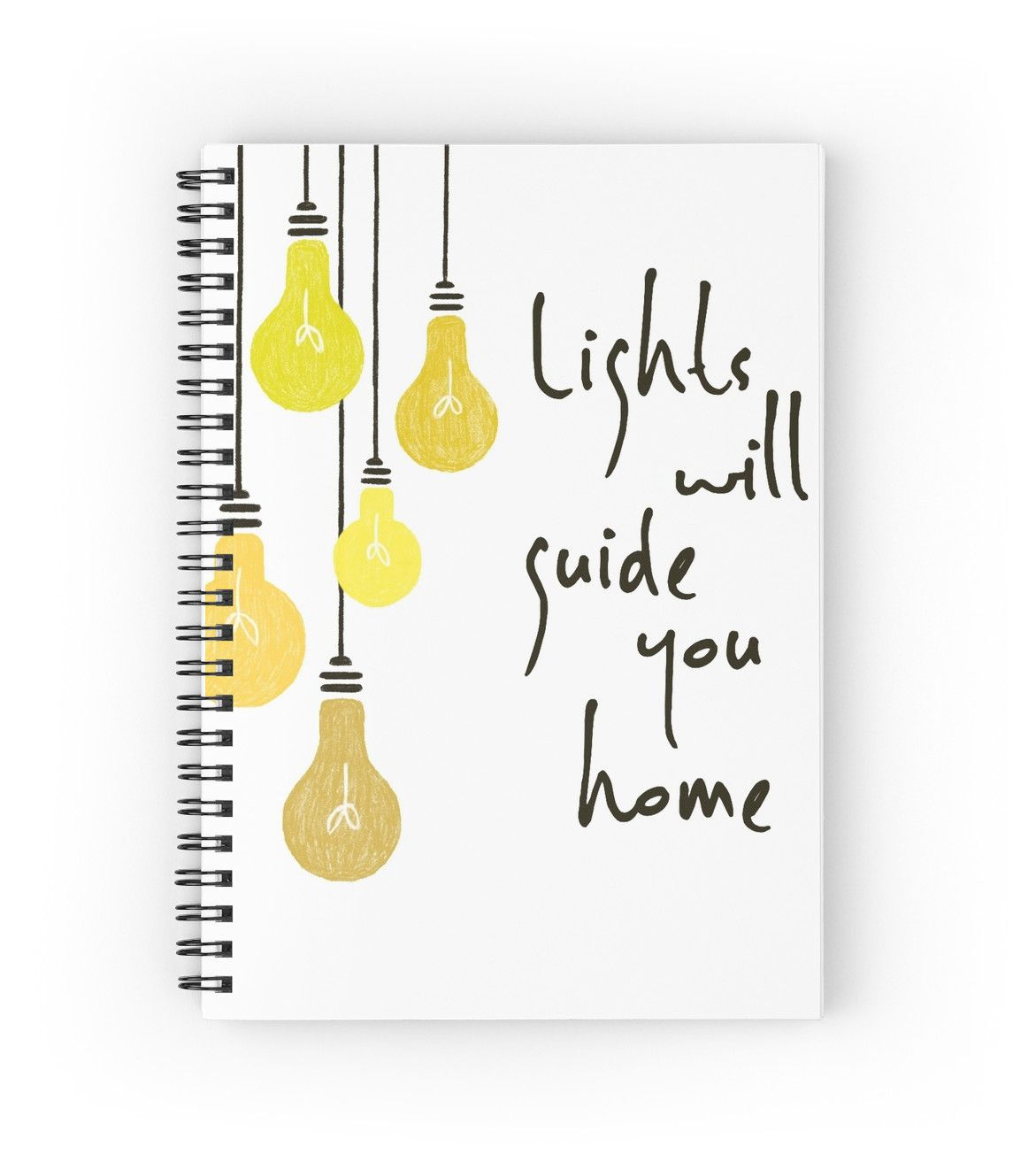 Lights Will Guide You Home by bubbliciousart | Notebooks | Pinterest ...