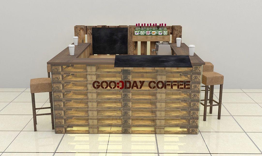 """Дизайн ОСТРОВНОЙ ОТДЕЛ """"GOODDAY COFFEE"""" Категория ..."""