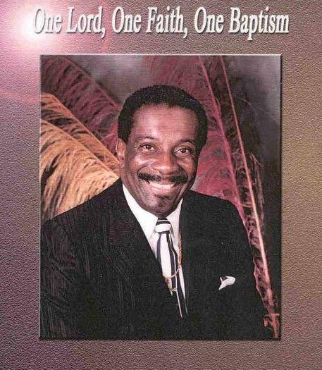 My favorite Bishop! Bishop David L  Ellis, Sr    remember him