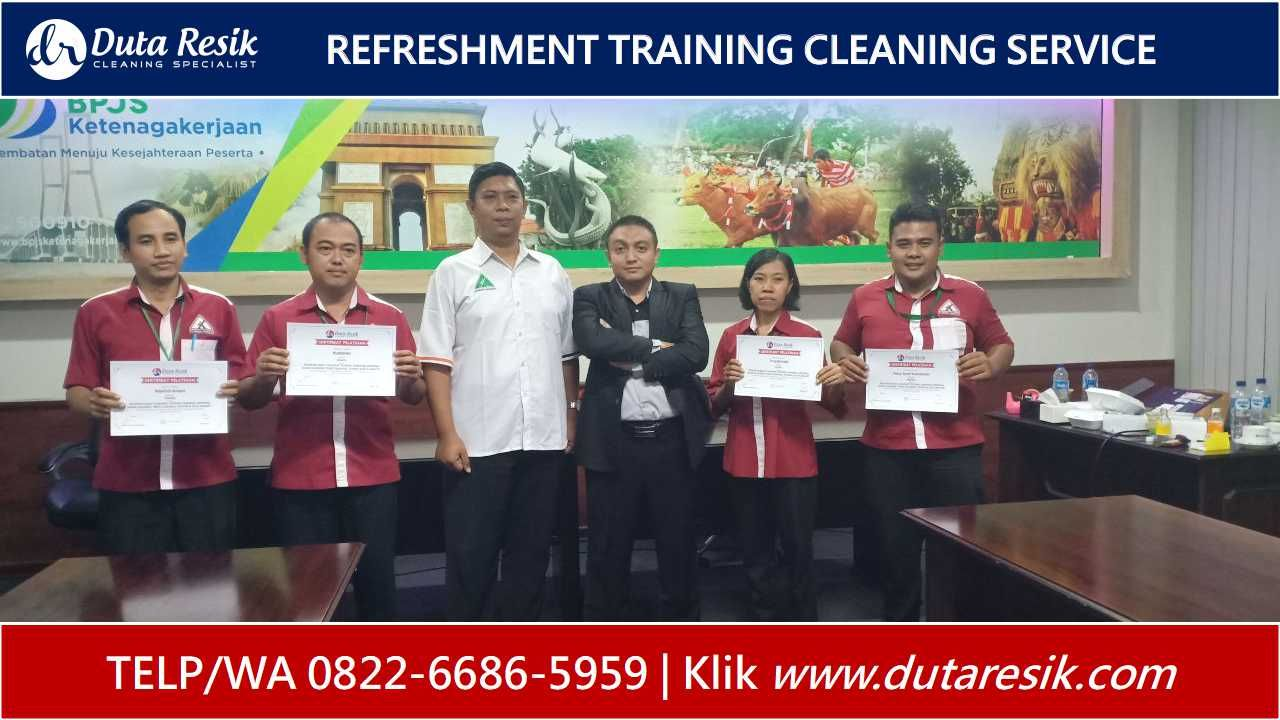 082266865959, Training Cleaning Service Bank, Training