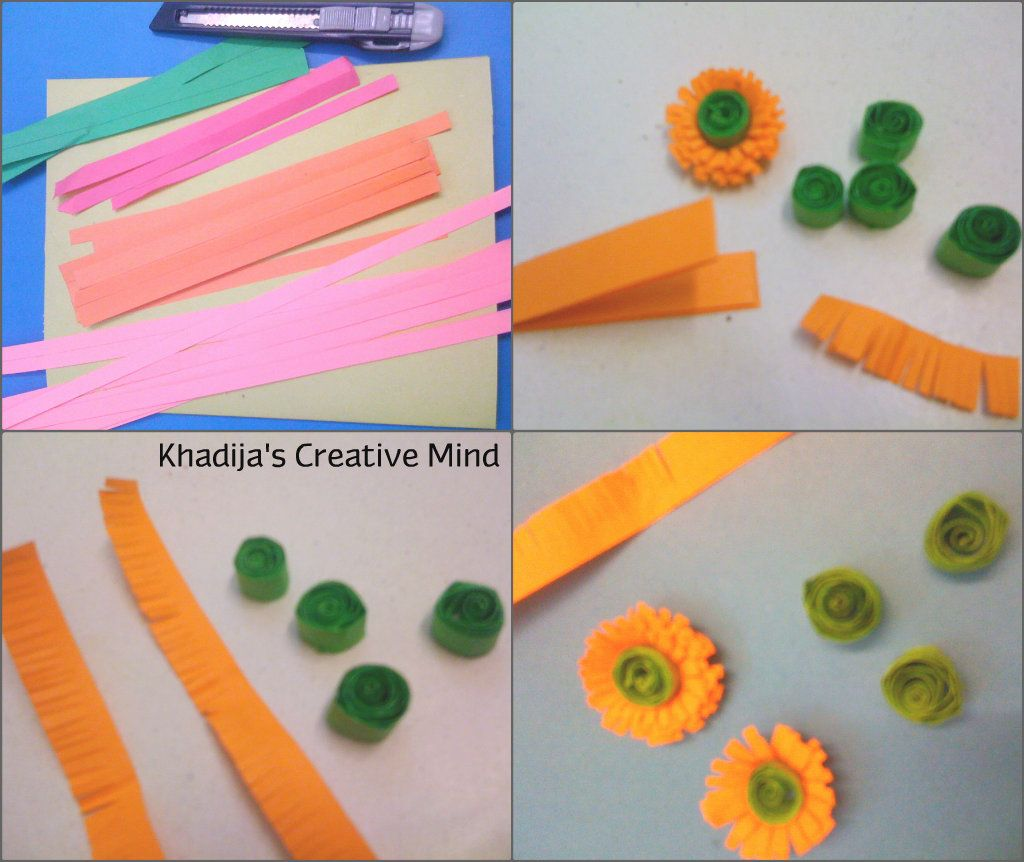 Charming How To Make Paper Quilling Cards Part - 5: Motheru0027s Day Quilling Card - Creative Mind Khadija