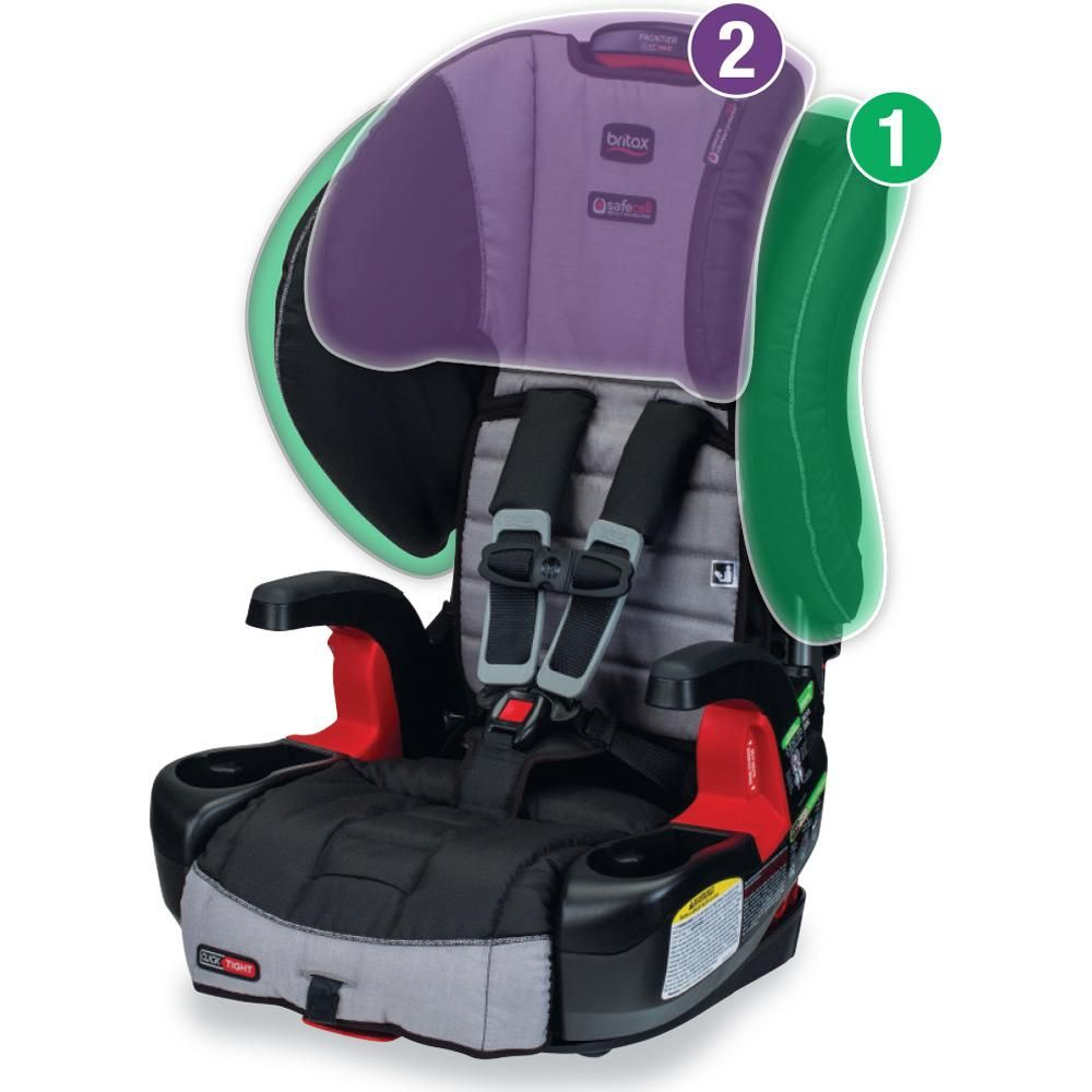 Amazon Com Britax G1 1 Frontier Clicktight Combination Harness 2 Booster Car Seat Vibe Baby Car Seats Booster Car Seat Booster Car