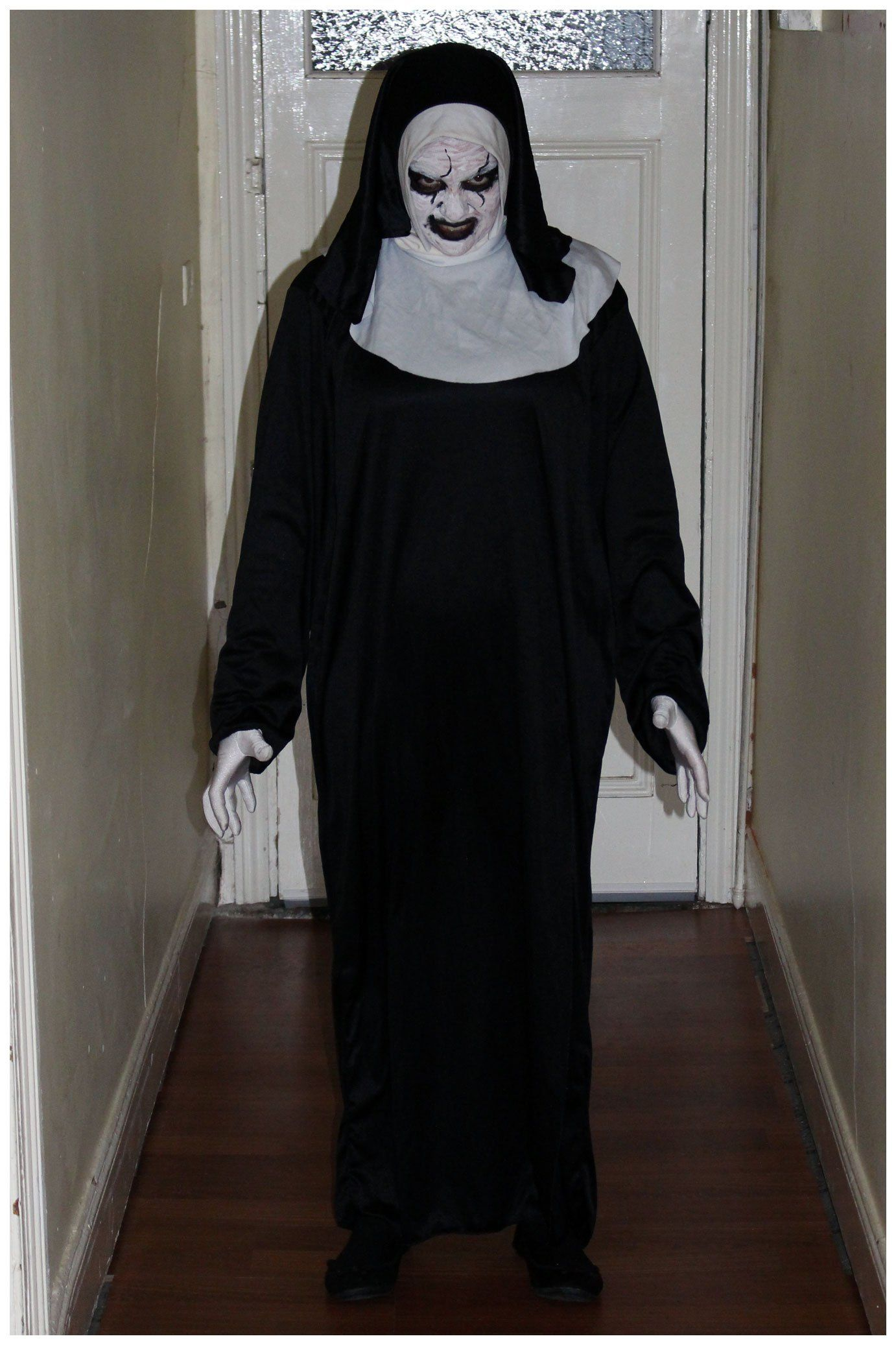 The conjuring 2 valak demon nun costume get more costume and the conjuring 2 valak demon nun costume get more costume and halloween inspiration on this blog over 400 homemade diy costume ideas solutioingenieria Image collections