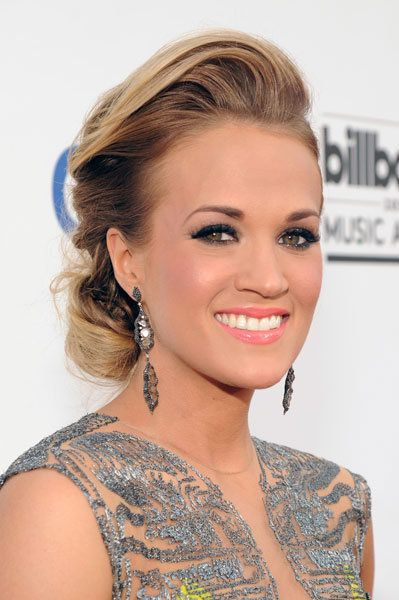 Carrie Underwood attends the Billboard Music Awards on May 18, 2014, in Las Vegas.