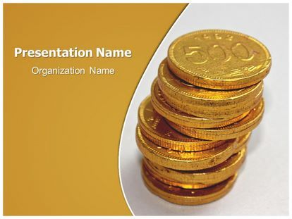 Download Free Coins Powerpoint Template For Your Powerpoint