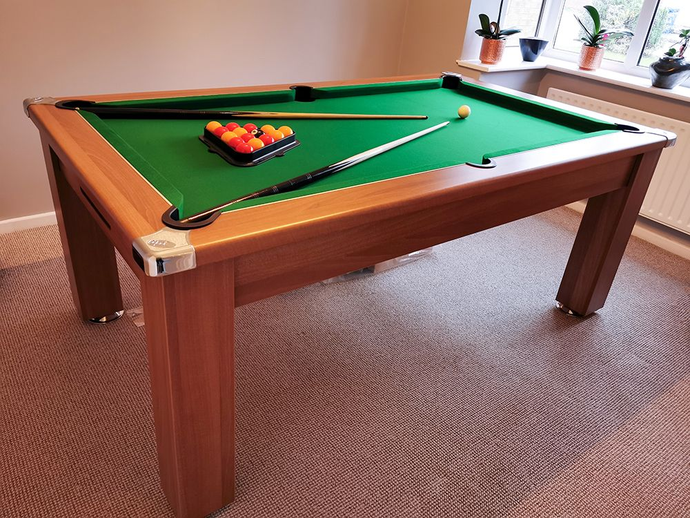 Signature Warwick Pool Dining Table All Finishes 6ft 7ft In