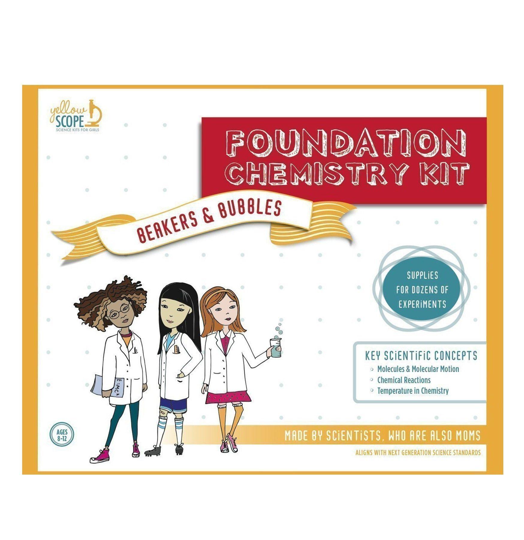 Foundation Chemistry Kit Chemistry, Cool gifts for kids
