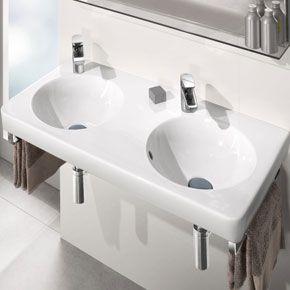 Joyce Basin At The Showroom Wash Basin Villeroy Boch Contemporary Bathrooms