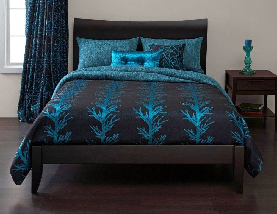Appealing Pictures Of Turquoise Bed Sheets With Best Turquoise Bedding Sets:  Turquoise Bed Sheets With Super Target Chocolate Brown And Turquoise Bedding  ...
