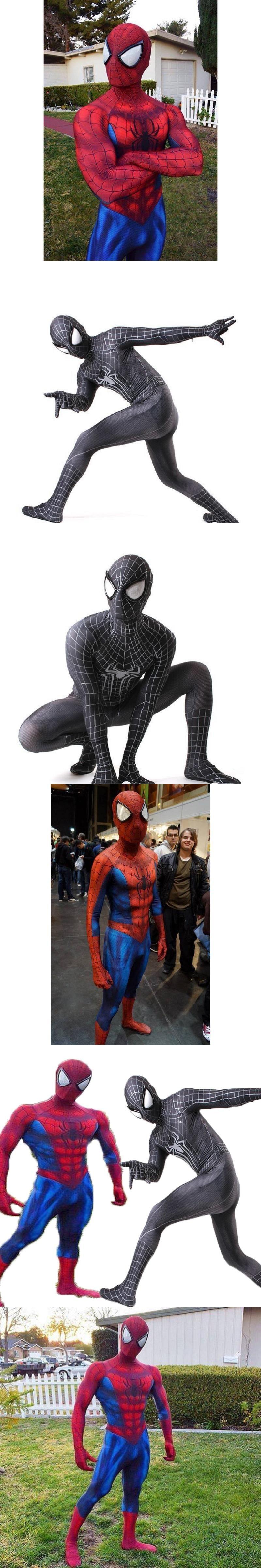 Spiderman Costume 3D Print Cosplay Zentai Suit Spandex Male Comic Spider-man Superhero Costume S  sc 1 st  Pinterest & Spiderman Costume 3D Print Cosplay Zentai Suit Spandex Male Comic ...