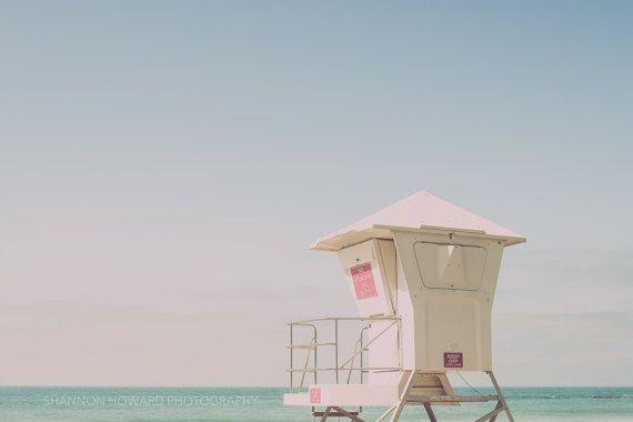 Calming Beach Photography Art Print