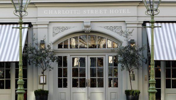 Charlotte Street Hotel London - design business hotel in North Soho