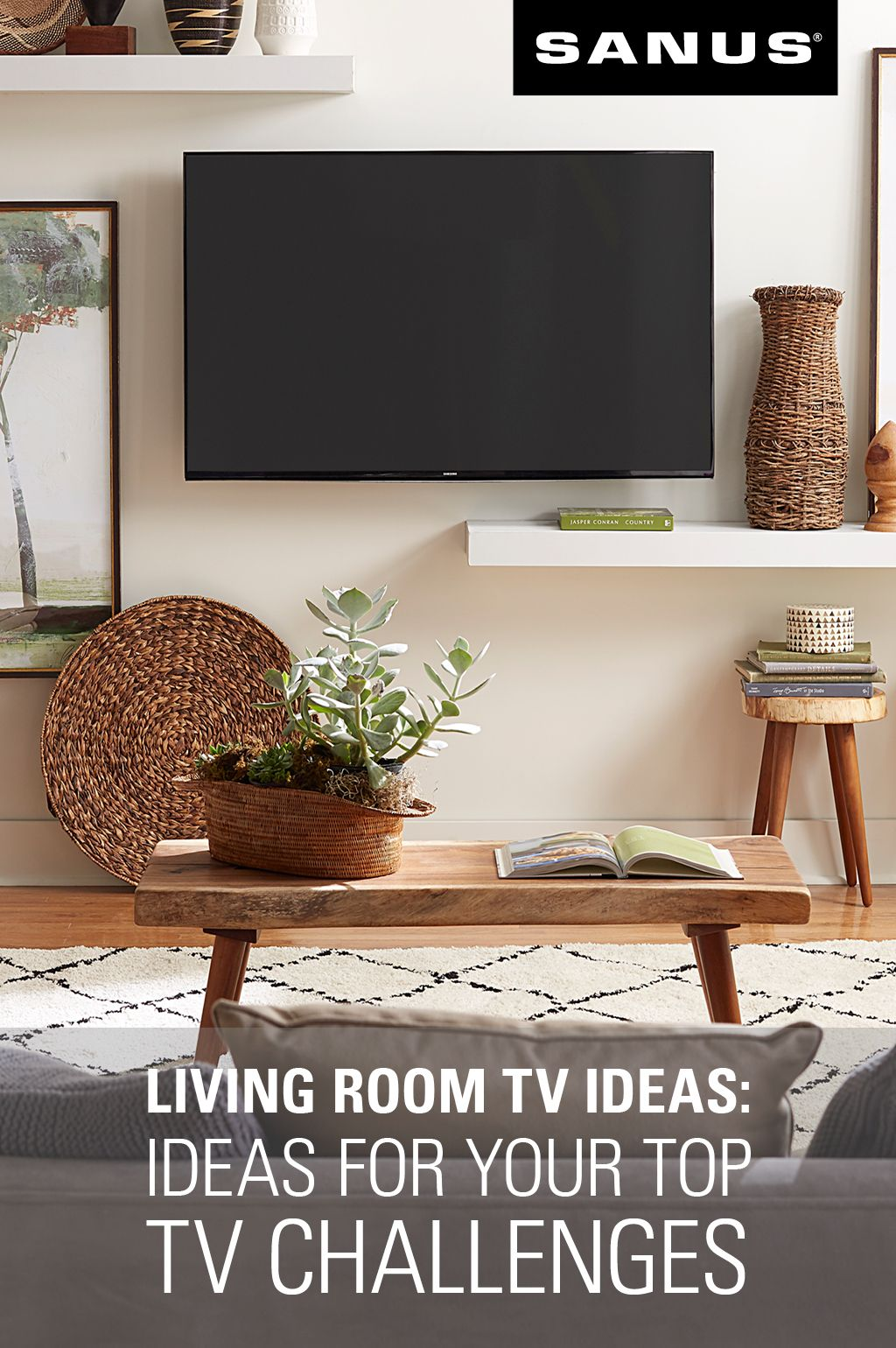 Living Room Tv Ideas Solutions For Your Top Tv Challenges Living Room Tv Room Living Room
