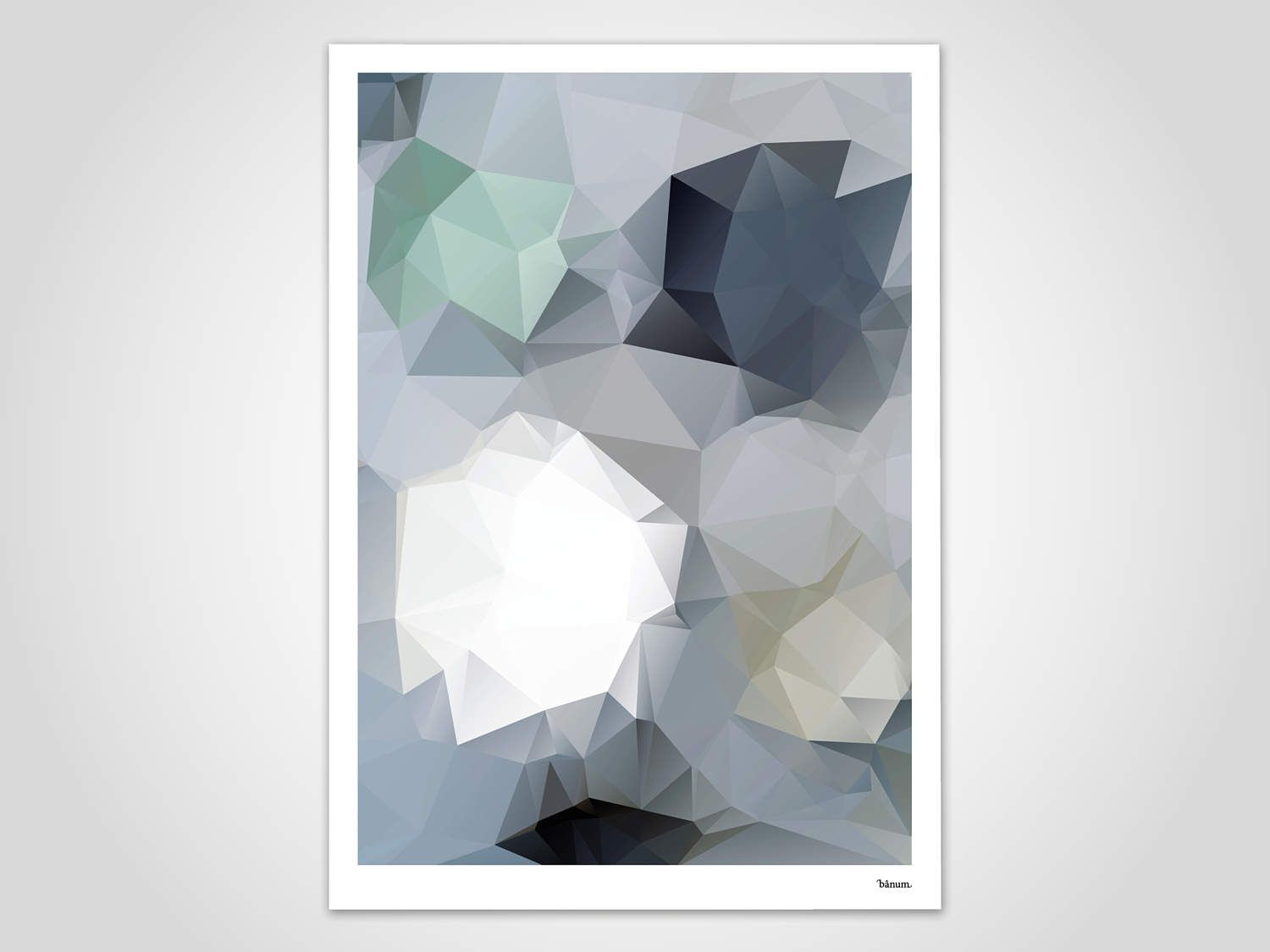 HARADA - modern poster, abstract art prints, modern wall art print ...