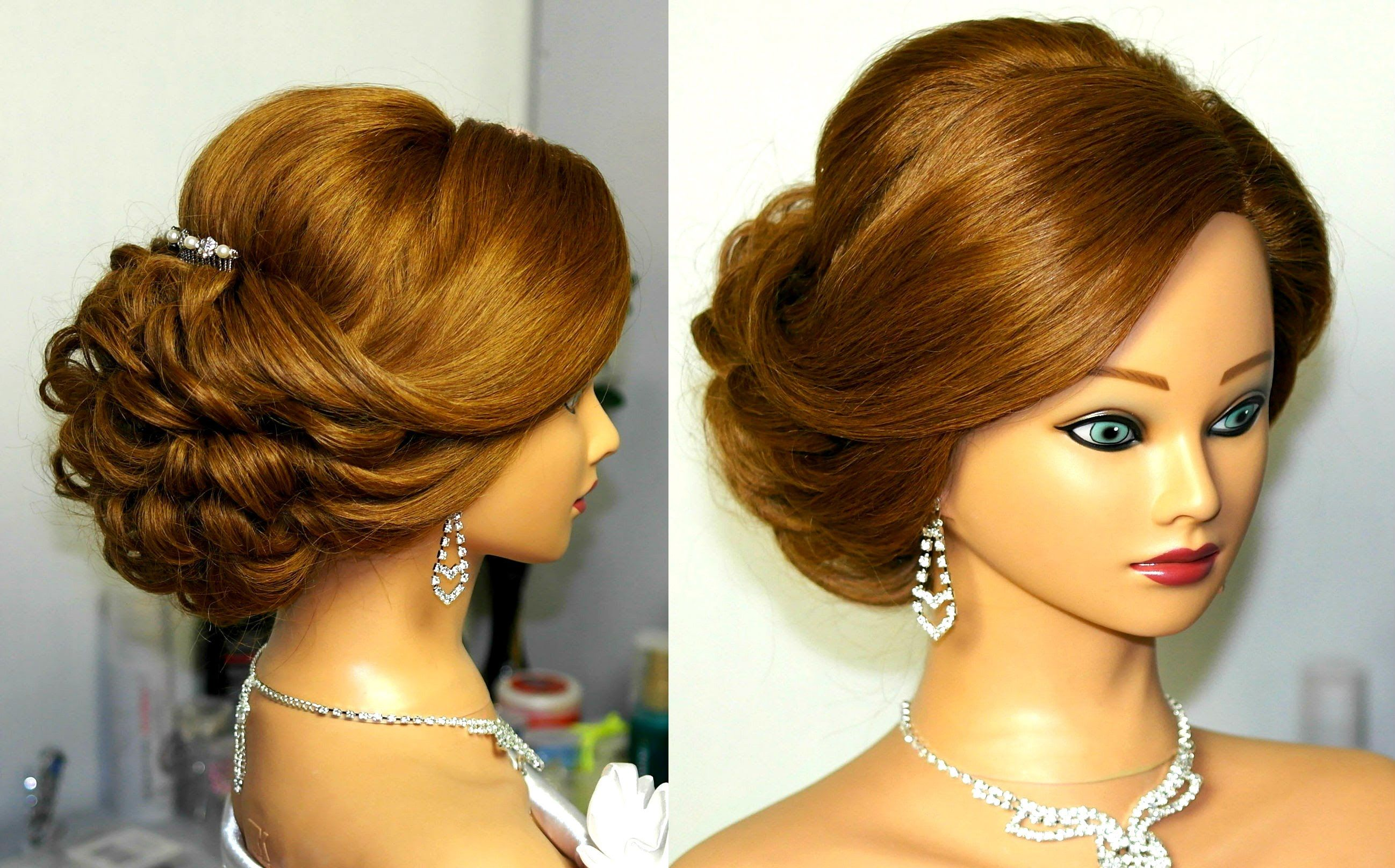 Outstanding Updo Hairstyles For Medium Hair And Search On Pinterest Short Hairstyles Gunalazisus