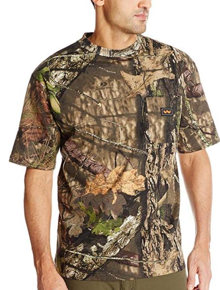 walls men s short sleeve camo t shirt hunting shooting on walls coveralls camo id=45311