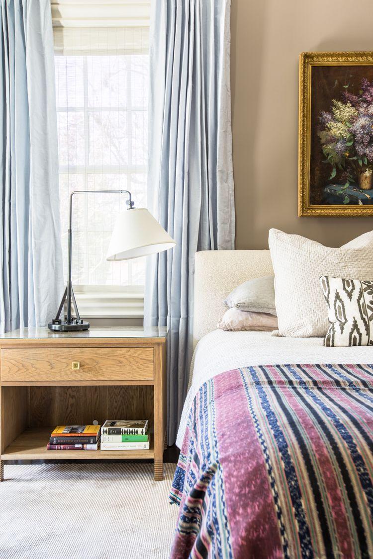 Nightstand Lamps For Bedroom Bedroom Design By Logan Killen Interiors Brompton Swing Arm