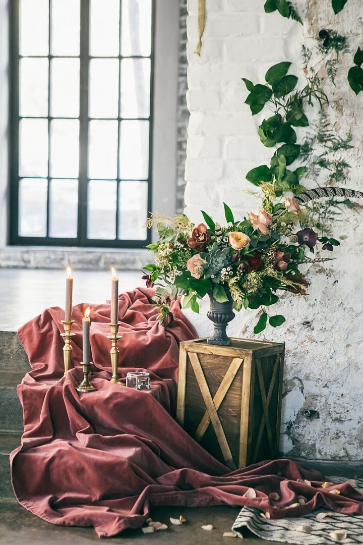 Beige and Dusty pink Wedding Colours For a Boho Fairytale Wedding | fabmood.com #wedding #bohowedding #styledshoot #weddinginspiraiton