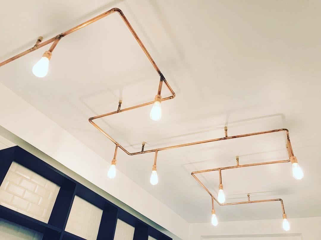 Beau Luminaire Pour Cuisine Design En 2020 Plafonnier Cuivre Luminaire Suspension Luminaire Cuisine