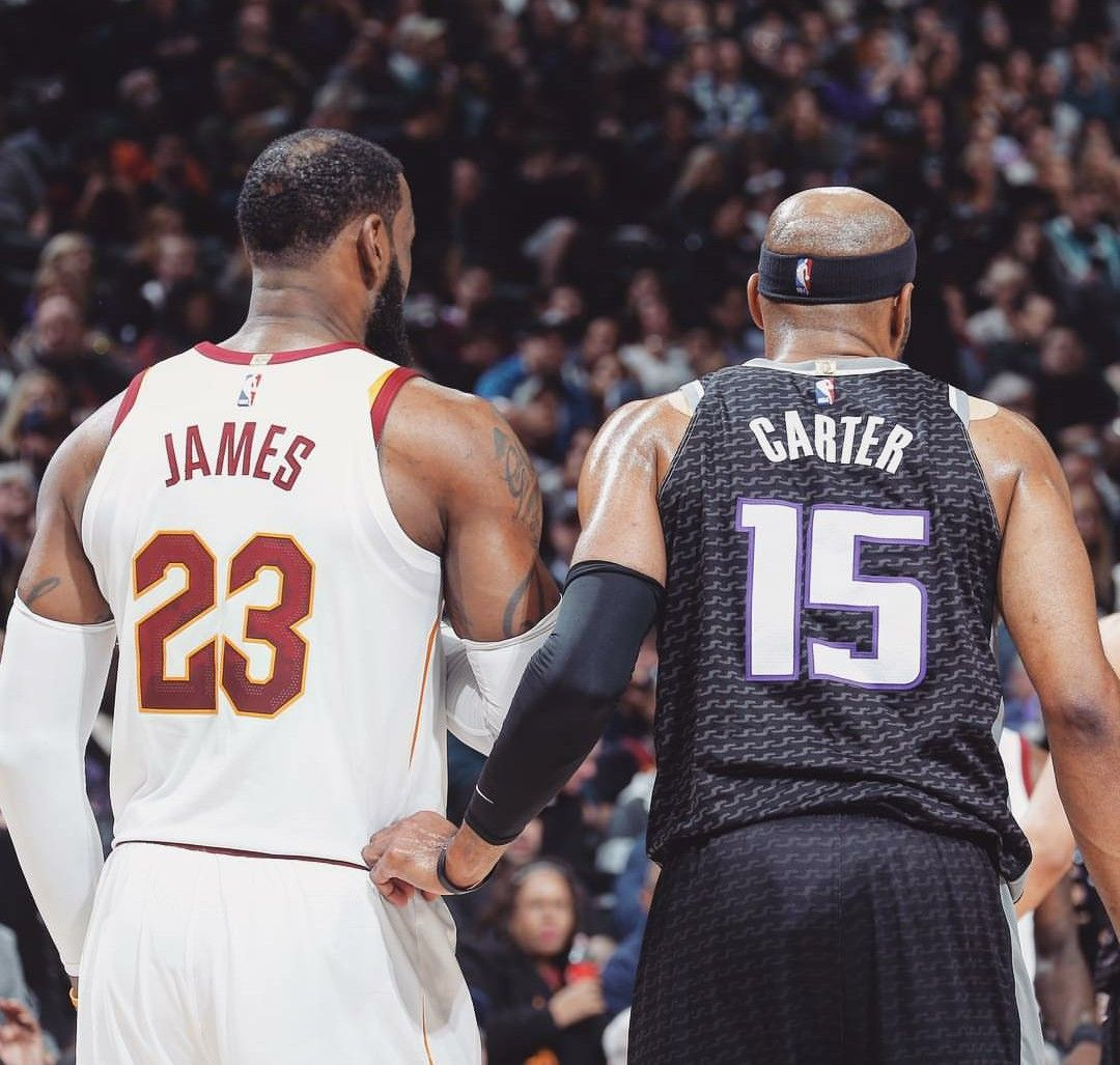 80c1831d3f7549 Lebron James and Vince Carter