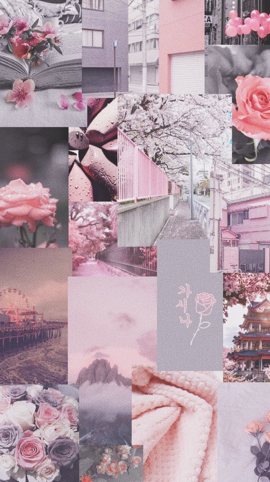 Pink And Grey Aesthetic Wallpaper In 2020 Pink And Grey Wallpaper Gray Aesthetic Grey Wallpaper