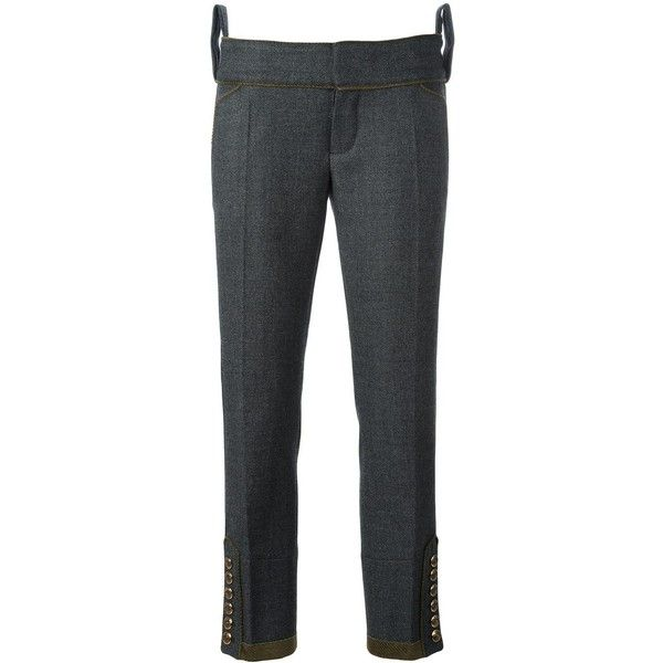 tailored cropped trousers - Grey Dsquared2 vuh2hn
